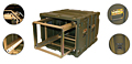Warrior™ 19 Inch Rackmount Cases with Removable Rack - 5