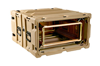 Scout™ 19 Inch Rackmount Double Entry Rotomold Cases