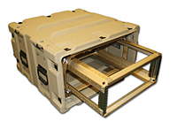 Warrior™ 19 Inch Rackmount Cases with Removable Rack